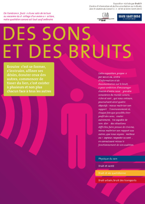 expo SONS ET BRUITS 500 700