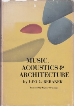 Music: acoustics and architecture