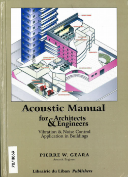 Acoustic manual for architects & engineers