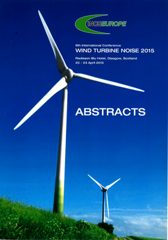 sixt international conference on windturbine